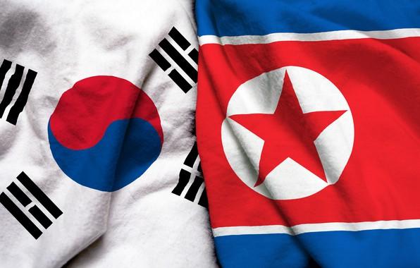 Wallpaper South Korea Flag North Korea Images For Desktop