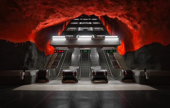Picture art, stockholm, metro, sweden, desigh, arhitecture