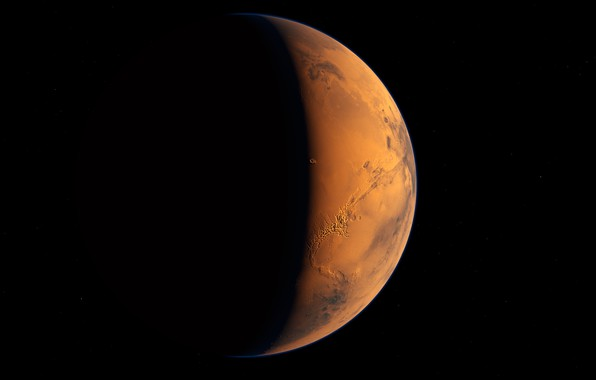 Picture space, planet, Mars