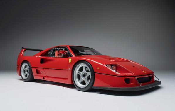 Picture Red, Ferrari F40, Model