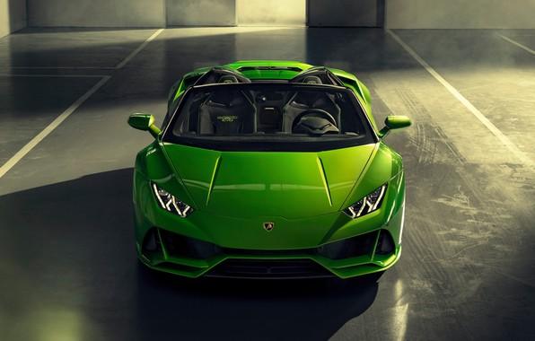 Picture machine, Lamborghini, optics, sports car, Spyder, Evo, Huracan