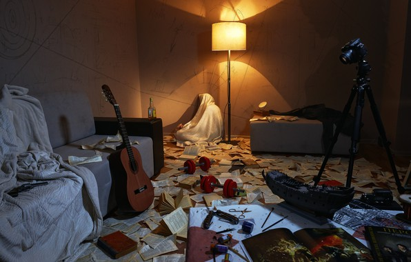 Picture hope, room, people, guitar, the camera, guitar, creativity, camera, beginning, man, room, hope, creation, mess, …