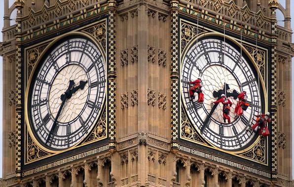 Picture watch, England, London, Big Ben