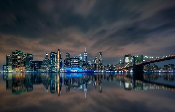 Picture night, the city, Manhattan
