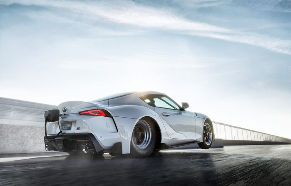 Picture Toyota, Race, Supra, Drag, 2020