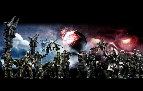 Picture killzone, army, helghast, isa