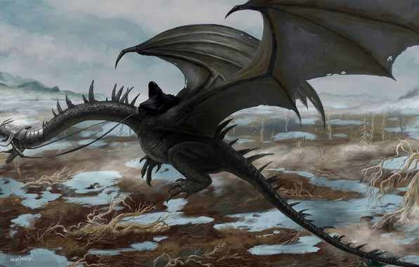 Picture art, The Lord Of The Rings, Ghost, Nazgul, The Dead Marshes, Ulairi