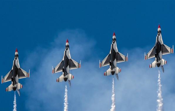 Picture USA, BBC, squadron, 'The Thunderbirds'
