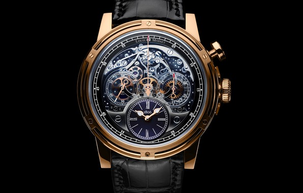 Picture Watch, Gold, Louis Moinet, Remembered