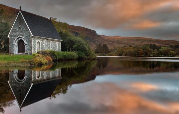 Picture Ireland, Cork, Gougane Barra, St Finbar's Oratory