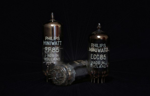 Picture Philips, radio tube, tubes, electron tube