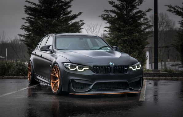 Picture BMW, Evening, Gray, F80, Sight