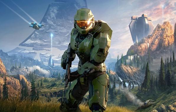 Picture Halo, Armor, Infinite, 343 Industries, Halo: Infinite, Halo Infinite
