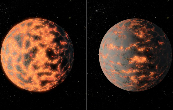 Picture space, planet, exoplanet
