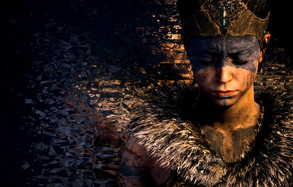 Picture background, the game, Hellblade Senua's Sacrifice