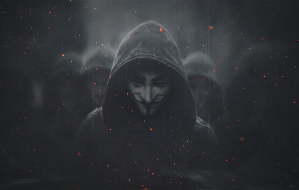 Picture Art, Legion, Anonymous, Guy Fawkes, Watch Dogs, Mask, Watchdogs Legion