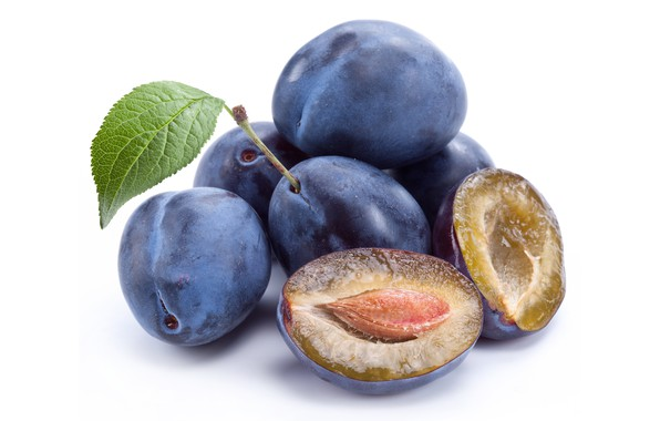 Picture background, fruit, plum, treat