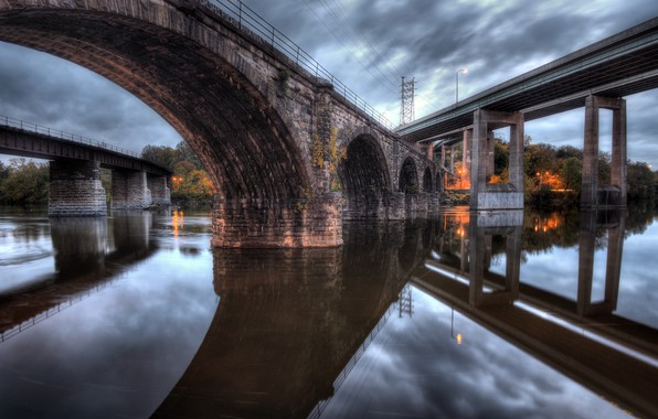 Picture United States, Pennsylvania, Bridges, Congressional District 3