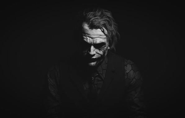 Picture 2008, Joker, The dark knight, The Dark Knight, joker, Heath Ledger, Heath Andrew Ledger