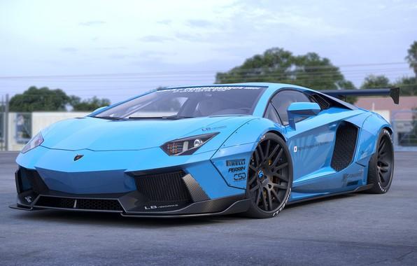 Picture Auto, Lamborghini, Machine, Car, Auto, Render, Aventador, Lamborghini Aventador, Rendering, Supercar, Sportcar, Transport & Vehicles, …