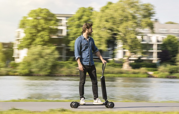 Picture Audi, Audi, concept, the concept, e-scooter, electric scooter, functionality and style for the last mile, …