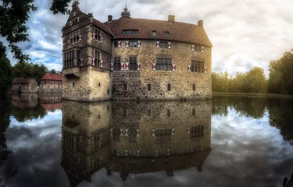 Picture Castle, Reflections, Castle Lüdinghausen