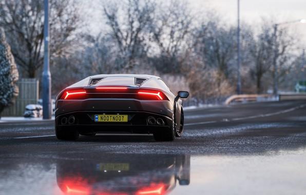 Picture Lamborghini, Microsoft, game, 2018, Huracan, Forza Horizon 4
