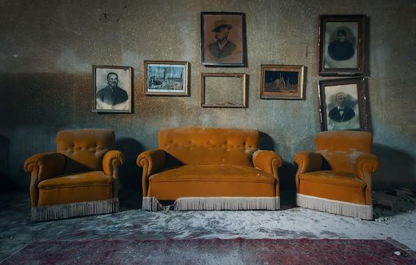 Picture photo, room, sofa