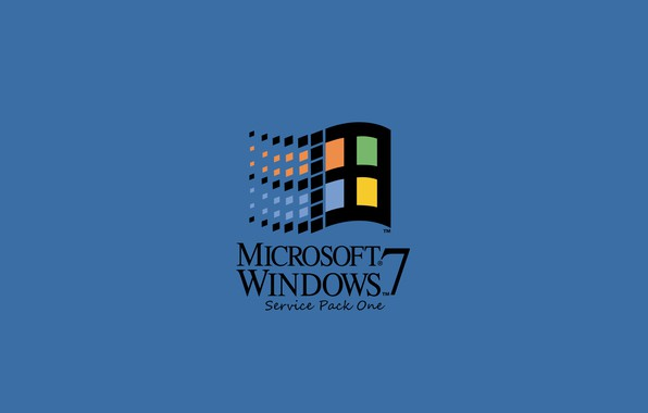 Picture windows 7, Microsoft, windows logo, retro, windows 95, windows classic