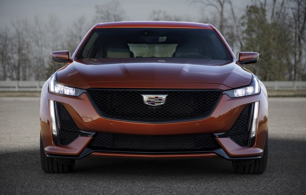 Picture Cadillac, sedan, front view, 2020, 2019, CT5-V