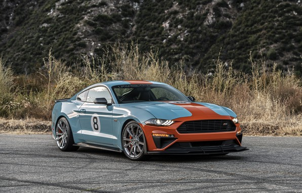 Picture machine, Mustang, Ford, Roush, Performance Stage 3