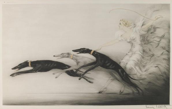 Picture 1933, Louis Icart, Speed II