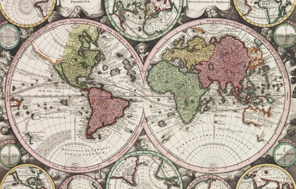 Picture world map, Atlas, geography, Atlas of the New or of the Board Geographic area of …