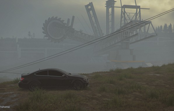 Picture mercedes, gelding, benz, amg, AMG, the crew 2, c63 amg coupe black series
