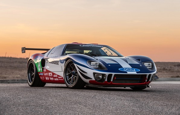 Picture sunset, Ford, the evening, 2018, GT40, Superformance, SEMA 2018, Future GT Forty