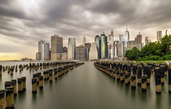 Picture skyline, Brooklyn, Lower Manhattan
