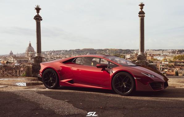 Picture rendering, Lamborghini, supercar, CGI, Huracan, LP-580, by Sebastian Ladan