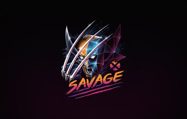Picture Minimalism, Background, Wolverine, Logan, Art, Wolverine, Neon, Mutant, Savage, by Vincenttrinidad, Vincenttrinidad, by Vincent Trinidad, …