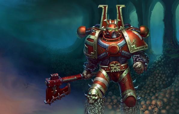 Wallpaper the genestealers, Warhammer 40 000, forge world, Adeptus