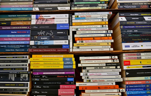 Picture background, books, shelf