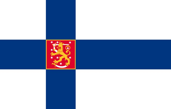 Picture flag, coat of arms, fon, flag, Finland, finland, coat of arms