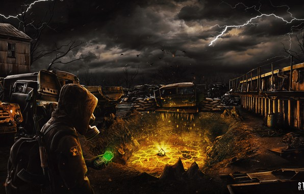 Picture Stalker, STALKER, STALKER 2, Chernobyl, S. T. A. L. K. E. R 2, Clear skies, …