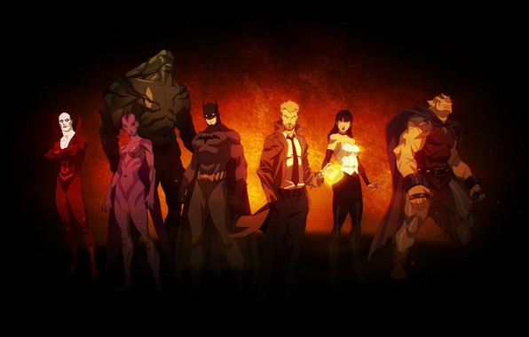 Picture batman, Batman, the demon, team, Orchid, team, DC comics, Zatanna, dead, antihero, deadman, Zatanna, DC, …