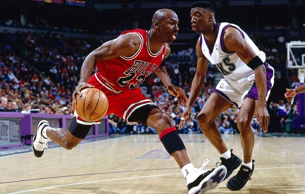 Picture AIR, Michael Jordan, Legend, NBA, Chicago Bulls, Basketball, # 23, I love this game, MJ