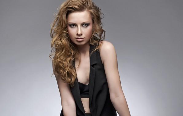 Picture look, hair, dress, singer, curls, Julia Savicheva, Savicheva