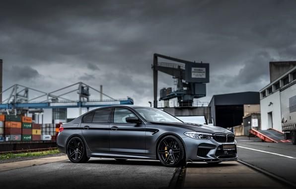 Picture overcast, BMW, sedan, Biturbo, BMW M5, Manhart, M5, V8, F90, 2019, 4.4 L., MH5 800, …