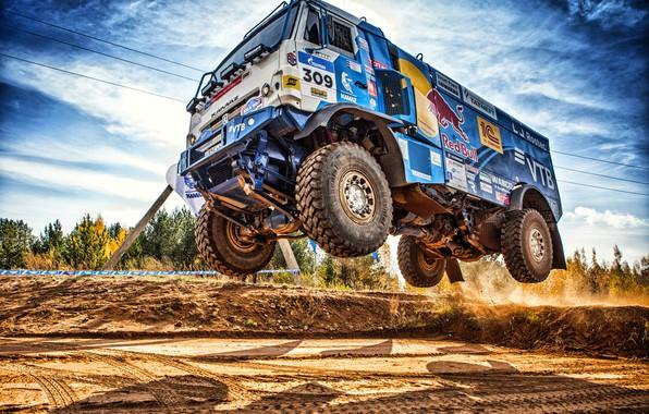 Picture Sport, Machine, Speed, Truck, Race, Master, Russia, Kamaz, Rally, Dakar, KAMAZ-master, Dakar, Rally, KAMAZ, The …