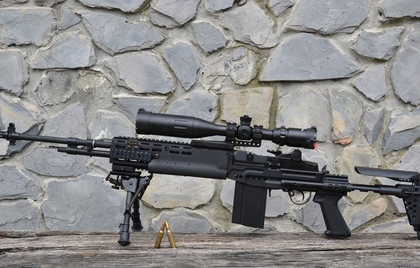 Picture weapons, gun, rifle, weapon, rifle, M14, EBR, marksman, MK14, EBR
