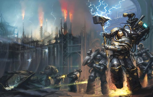Picture book, Warhammer, space Marines, space marines, Warhammer, book, Iron Hand, Iron Hands, the Primarch, primarch, …