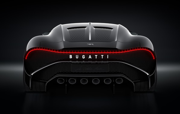 Picture machine, Bugatti, lantern, stylish, hypercar, The Black Car